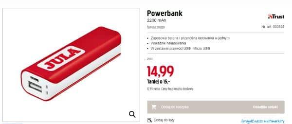 powerbank reklamowy