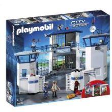 klocki Playmobil City Action Komisariat Policji z Więzieniem