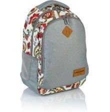 Jasny plecak dla nastolatek