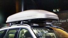 Samochodowe boxy dachowe (bagażniki) do tysiąca zł.